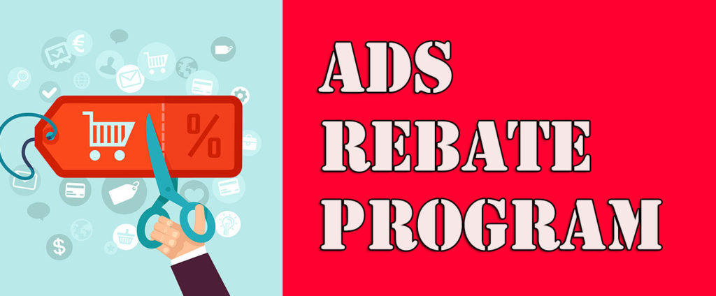 search engine ads rebate