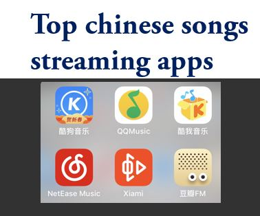 Top chinese songs streaming apps